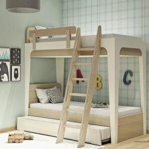 Κουκέτα με 2ο κρεβάτι σειράς Morn