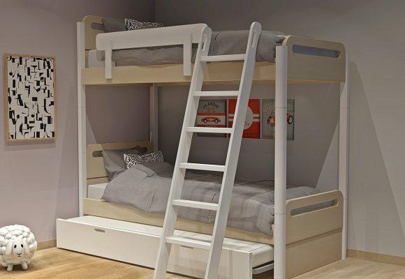 Κουκέτα με 2ο κρεβάτι σειράς Smile