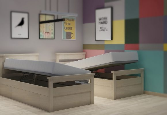 Κρεβάτι με μηχανισμό μπαούλου σειράς Classic