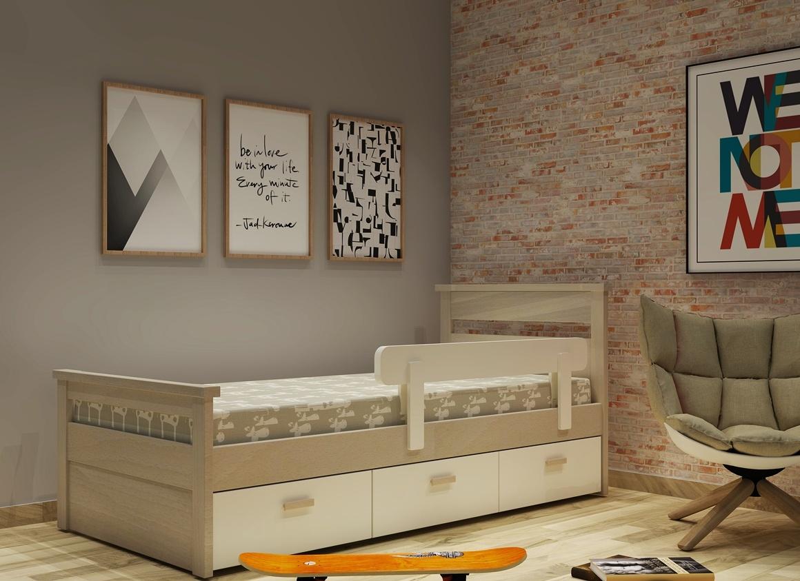 Κρεβάτι  σειράς Classic με συρτάρια