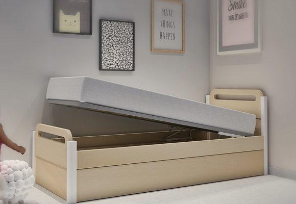Κρεβάτι με μηχανισμό μπαούλου σειράς Smile