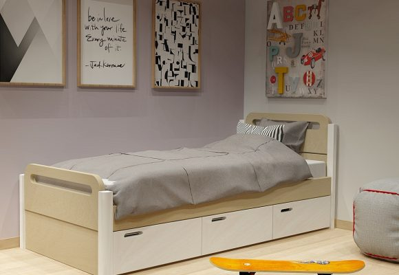 Κρεβάτι με συρτάρια σειράς Smile