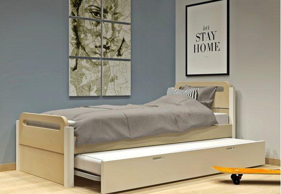 Κρεβάτι με 2ο κρεβάτι σειράς Smile