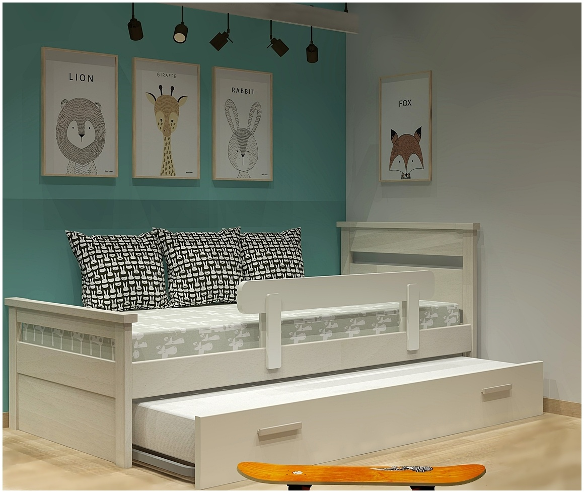 Κρεβάτι με 2ο κρεβάτι σειράς Classic