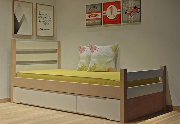Κρεβάτι με συρτάρια σειράς Rest