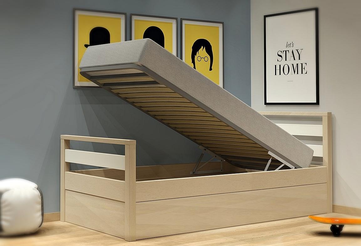 Κρεβάτι με μηχανισμό μπαούλου σειράς Simple