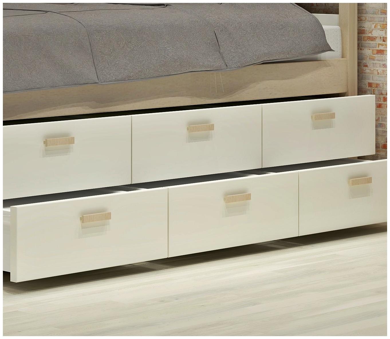 Κρεβάτια με 2 σειρές συρταριών