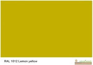 RAL 1012 Lemon yellow